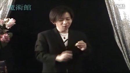 刘谦-近景硬币魔术-大币结尾2