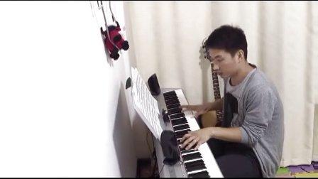 《菊次郎的夏天》插曲<SUMMER>   电钢琴演奏久石让作品 PIANO