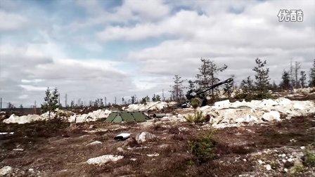 零距离体验130mm火炮威力-芬兰国防军Lapland 2013军演