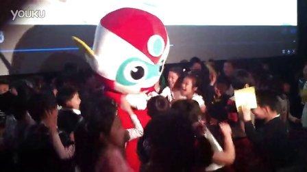 电影《开心超人》六一活动点映上海站