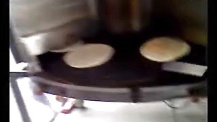 制作张口笑万能烧饼机芝麻香大烧饼转炉烧饼