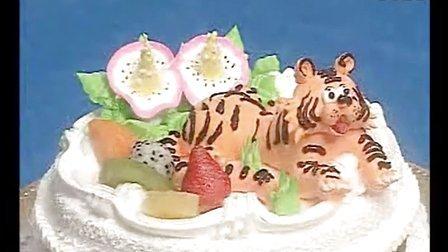 蛋糕裱花入门│水果蛋糕裱花视频│怎么做蛋糕裱花