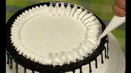 蛋糕裱花最基本的手法│蛋糕裱花技巧视频│生日蛋糕怎样裱花