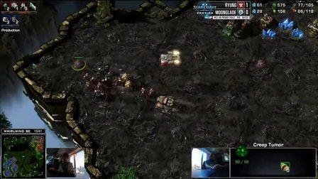 WCS NA 8强赛 Ryung VS Moonglade