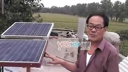 【拍客】河南最牛农民自家架设太阳能发电供给