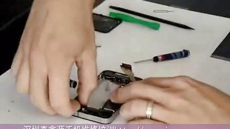 iphone4s苹果手机拆装--深圳森鑫源手机维修培训学校实操视频
