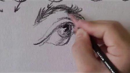 广大美术高考速写教学视频(非常61)----齐老师
