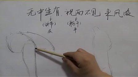 广大美术高考速写教学视频-----胡老师