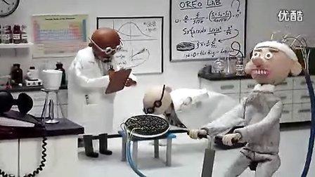 2011奥利奥夹心软饼广告:科学家篇