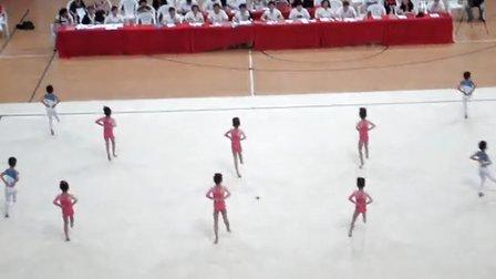 """2013年""""中南杯""""全国幼儿体操赛"""