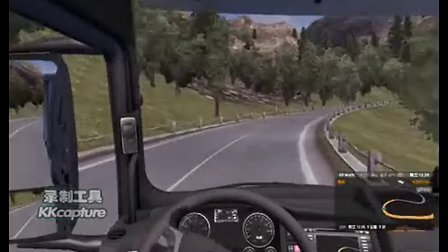 中国卡车模拟G214往丽江转香格里拉方向