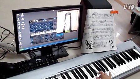 儿童钢琴 拜厄练习曲 91 Everyone Piano  MIDI键盘弹奏