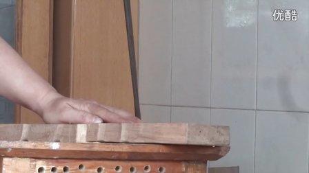 自制电动钢丝线锯,其效率丝毫不比上千元卖的高档线锯差。