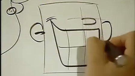 高级简笔画教程-怎样让卡通画活灵活现No_10