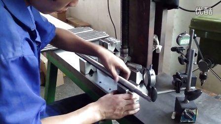 现场教你如何处理丝杆加工的变形校正