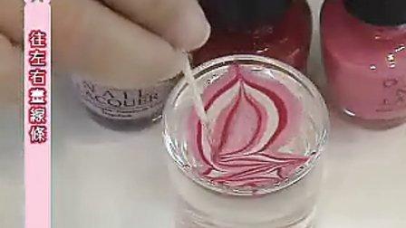 美国OPI指甲油 教你怎么快速弄出漂亮的花纹指甲纹案