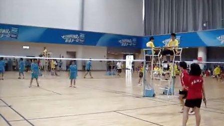 番禺第六届区运会儿童组羽毛球比赛
