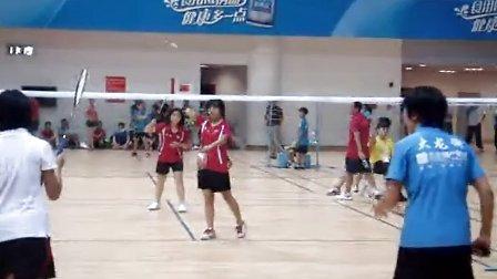 番禺第六届区运会羽毛球比赛儿童组