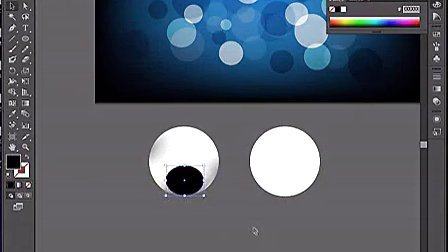 AI视频教程_AI教程_AI实例教程_海报设计篇_蓝色水珠-群165545796