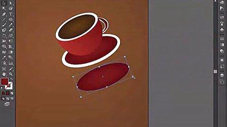 AI视频教程_AI实例教程_海报设计篇_浓情四溢小咖啡 -群165545796