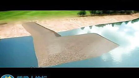 (桥梁人论坛分享)梅州城区广州大桥施工动画演示