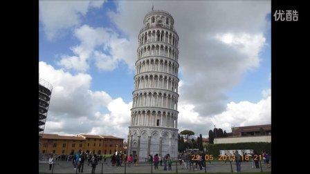 意大利,博洛尼亚大学,比萨 比萨斜塔  第四集 共六集