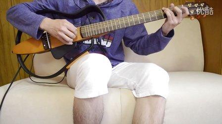 月亮代表我的心吉他独奏,低音版【高音质】