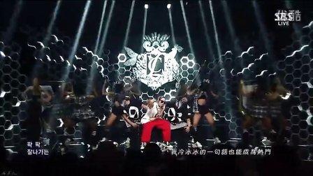 2NE1(CL)《坏女孩》SBS 人气歌谣[中韩字幕]画质超清HD版