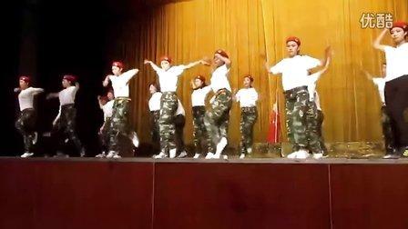 武生院第10届aerobics competition比赛开场