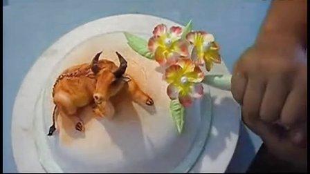 生日蛋糕裱花手法视频 裱花基础教程