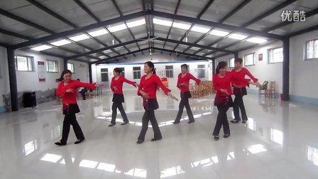 寿光市羊口镇丁家社区广场舞《泉水叮咚响》