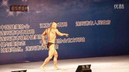 2013全国健美锦标赛男子成年组65公斤级 周斌