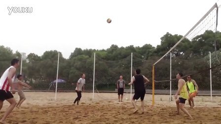 黄兴公园阳光beach volleyball