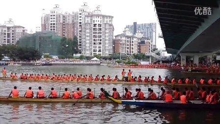 2013番禺市桥龙舟赛现场3