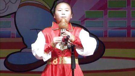 虞城少儿才艺大赛8葫芦丝  《梨花雨》