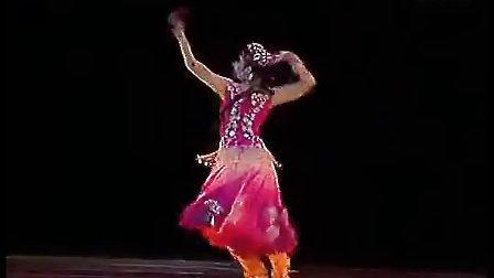 民族舞蹈 独舞 维族 少女