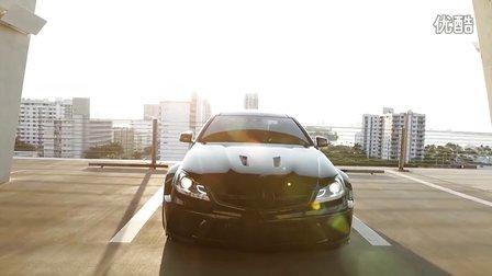 奔驰C63 AMG Coupe Black Series改装ADV.1轮毂