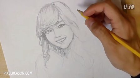 SNSD - Jessica DrawingSketch