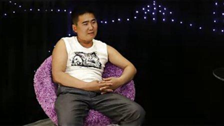 乌审旗电视台蒙古语专栏 访谈节目 蒙古国  昂哈