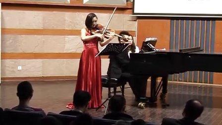 帕格尼尼 第24首随想曲 (中提琴与钢琴版本)中提琴:杨璟,钢琴:侯嘉斌