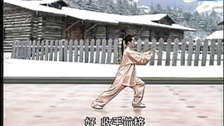 吴阿敏八式太极拳教学第四段