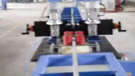 诺托开齿机穿条一体机生产过程