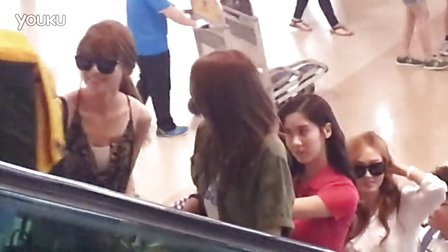 20130619 김포공항에서 소녀시대^~^