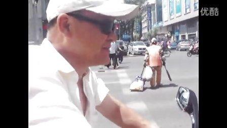 6月15日牡丹江太平路与爱民街路口监控视频