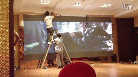 室内全彩屏安装视频,国亚LED显示屏专线:0551-65562525