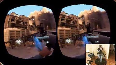 视频: oculus rift头戴虚拟现实3d眼镜现场体验者的激烈反应-5