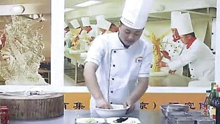江苏新东方烹饪学校 家常菜鱼香肉丝的制作