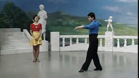 阎岭 张嵘 恰恰舞教学(金牌套路第一讲)