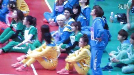 130128 아이돌 육상 양궁 체육대회 -- 높이뛰기 니엘 선수 금메