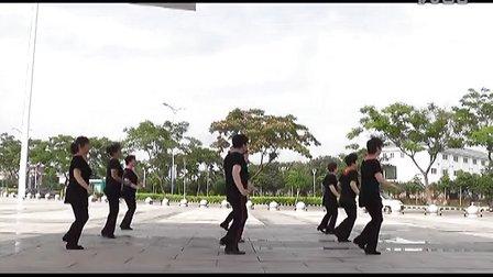 天天美广场舞教学附背面分解《的士高》16步